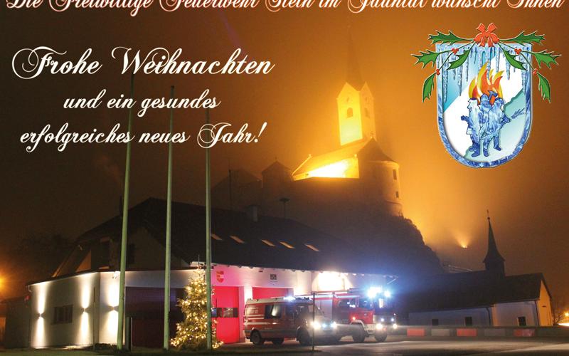 Frohe Weihnachten und gutes neues Jahr