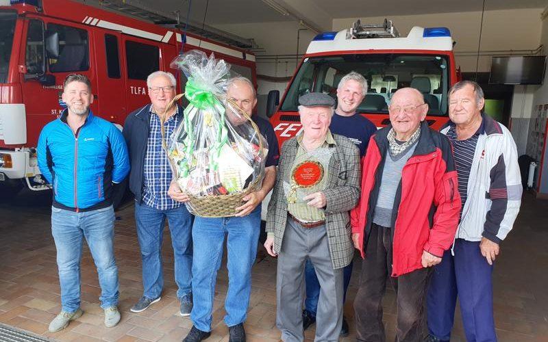 Altkamerad Diexer Seppl wird 90 Jahre